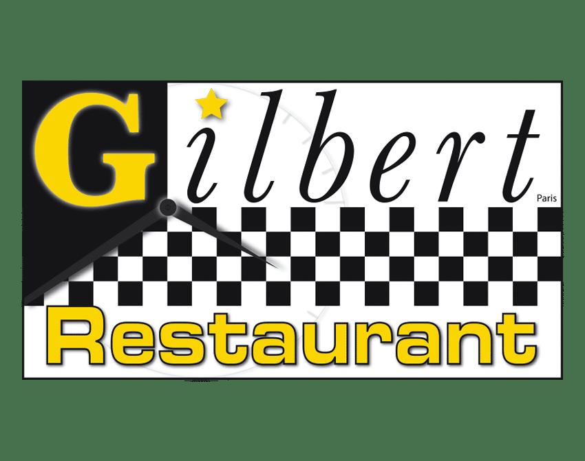 impression du logo-restaurant-gilbert